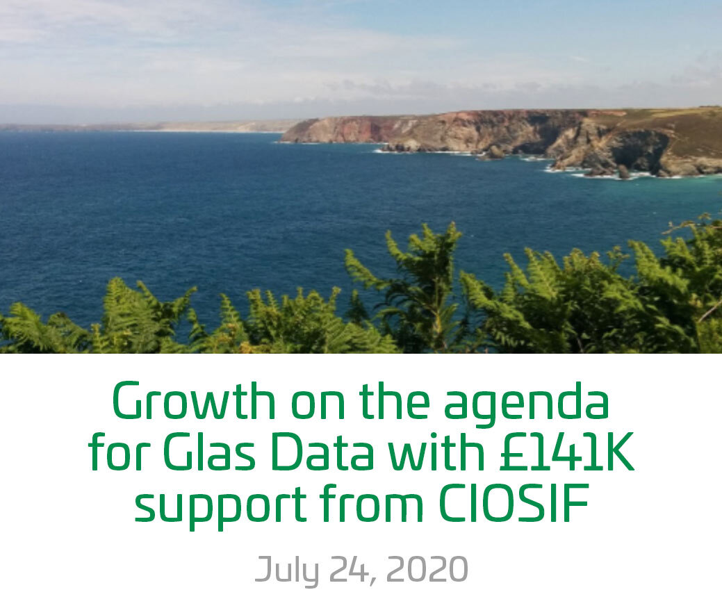 Glas Data 141k investment blog image