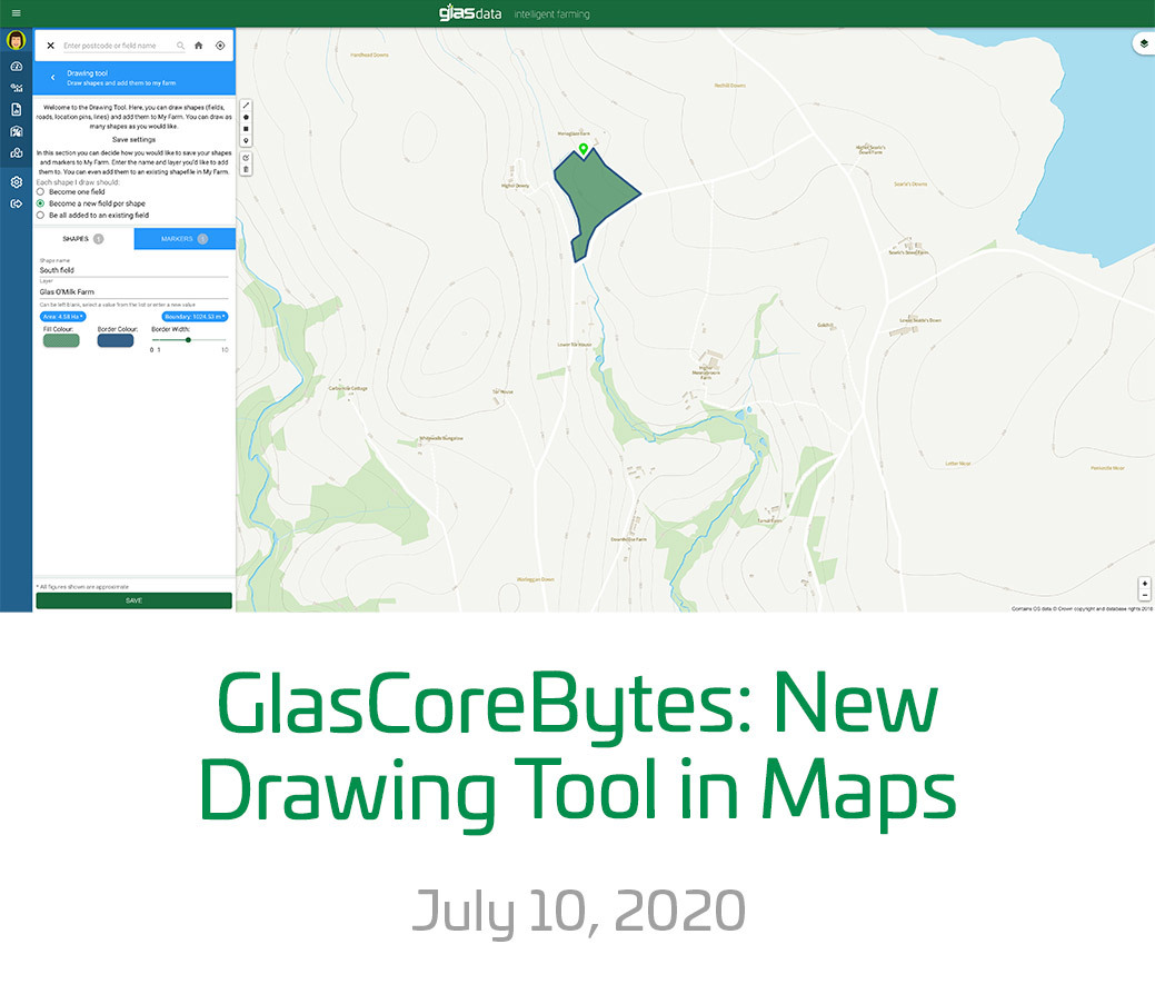 Maps drawing tool blog image